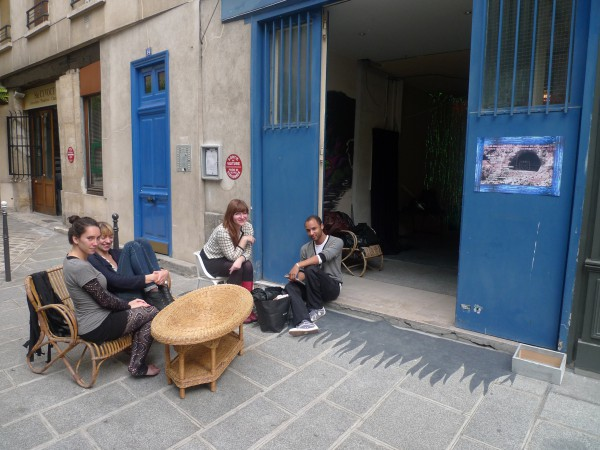 """in the middle of paris in """" le marais"""""""